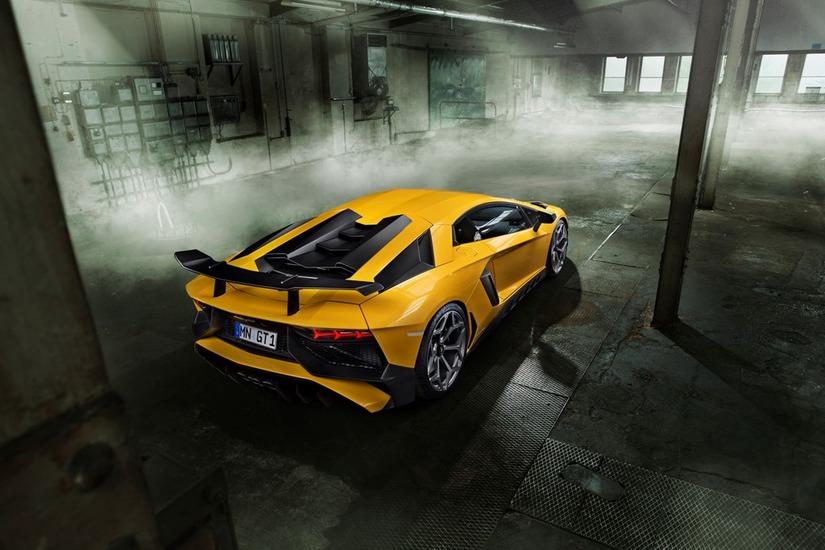 Siêu xe Lamborghini Aventador SV 8
