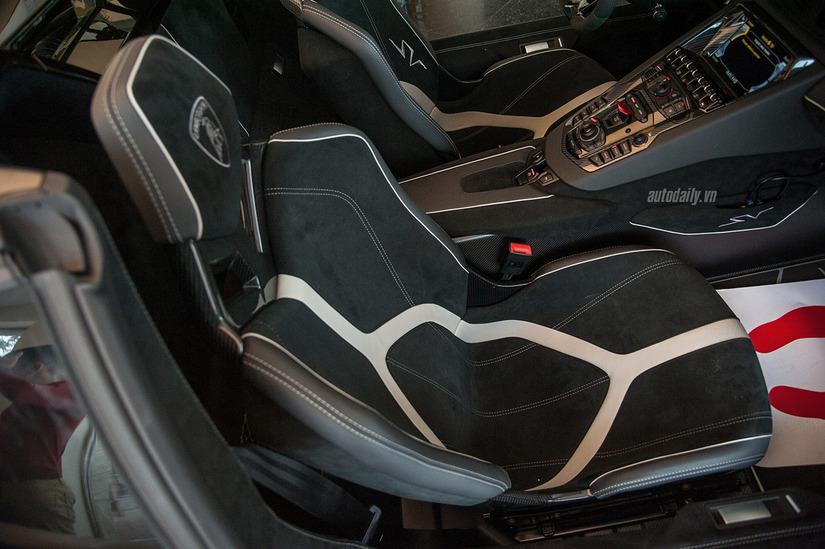 Siêu xe Lamborghini Aventador SV 11