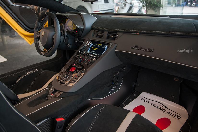 Siêu xe Lamborghini Aventador SV 12