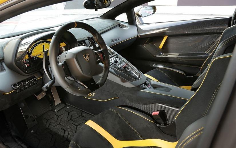 Siêu xe Lamborghini Aventador SV 14