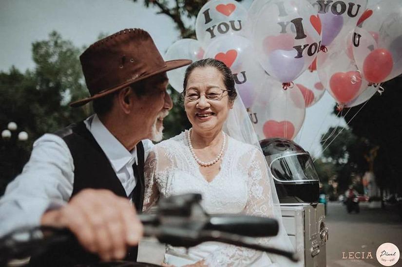 bộ ảnh cưới ông bà anh11