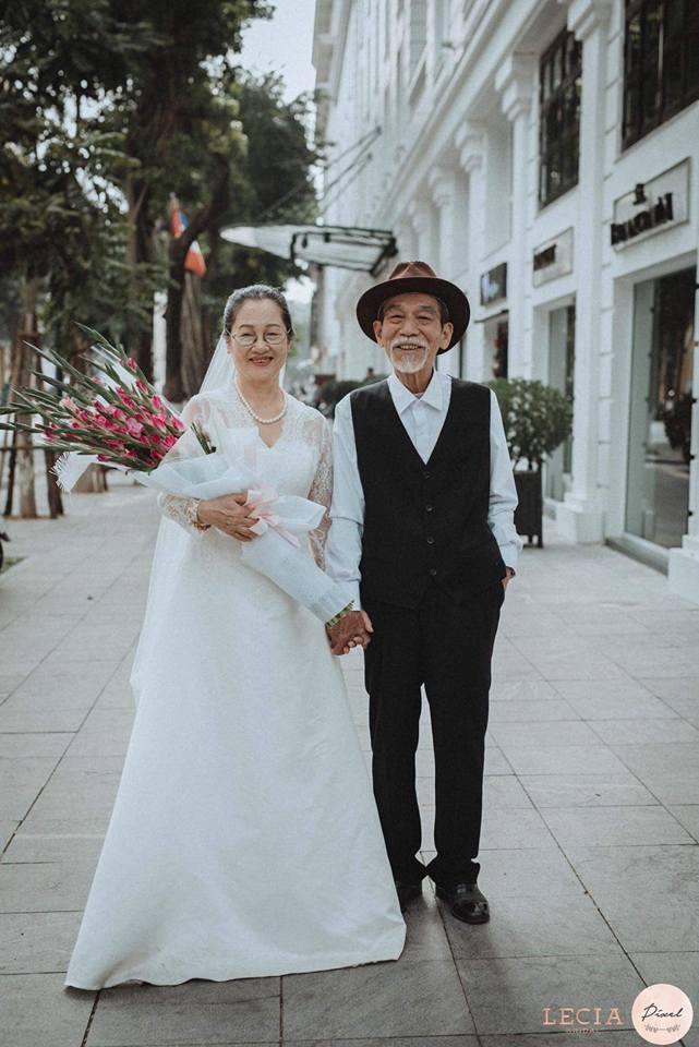 bộ ảnh cưới ông bà anh13