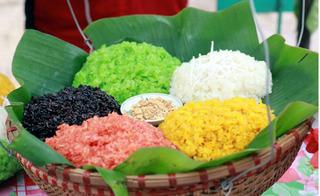 Gói bánh chưng Tết - tuyệt chiêu nhận biết gạo nếp