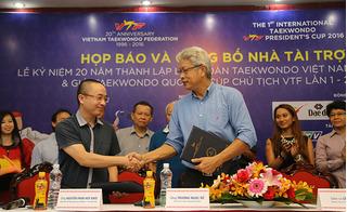 Liên đoàn Taekwondo Việt Nam kỷ niệm 20 năm thành lập