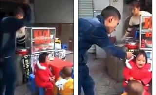 Báo chí Anh đưa tin vụ ông bố nhặt rác đánh con bằng thắt lưng dã man ở Việt Nam