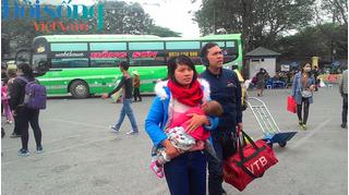 Điều chuyển bến xe khách ở Hà Nội: Hành khách kêu trời vì chi phí tăng gấp đôi