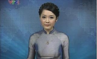 BTV Thu Hà thay thế Vân Anh dẫn bản tin Thời sự 19h