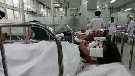 Tai nạn liên hoàn trên cao tốc Long Thành - Dầu Giây 9