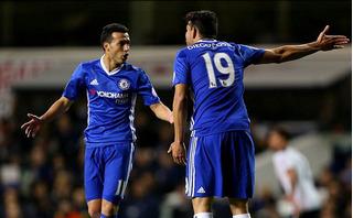 2 ngôi sao Chelsea cãi nhau như