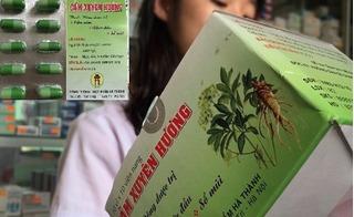 Bị đình chỉ lưu hành, thuốc Cảm Xuyên Hương vẫn tràn lan thị trường