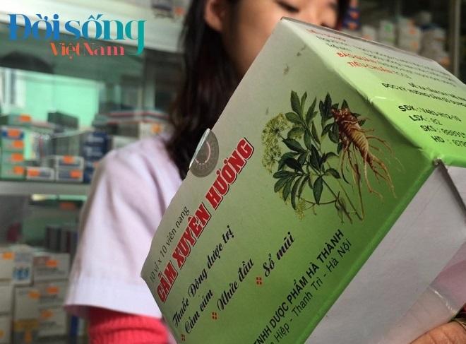 Đình chỉ thuốc Cảm Xuyên Hương 2