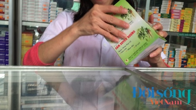Đình chỉ thuốc Cảm Xuyên Hương 4