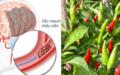 """Công thức """"hồi sinh"""" bệnh nhân tai biến mạch máu não từ lá ớt cực đơn giản"""