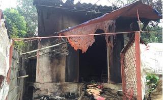 Cụ bà đón đường tạt axit vợ chồng hàng xóm rồi đốt nhà tự tử