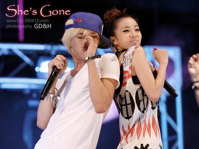 G-Dragon và Dara 3