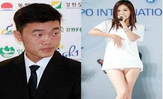 """""""Người yêu"""" Hàn Quốc bỏ rơi Xuân Trường trong lễ ra mắt Gangwon FC"""