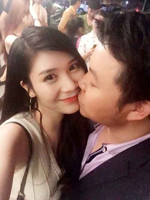 Hot girl Thanh Bi - người yêu Quang Lê 3