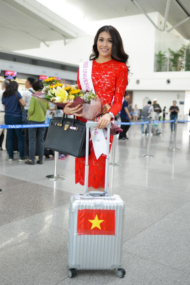 Lệ Hằng thi hoa hậu Hoàn vũ thế giới 1