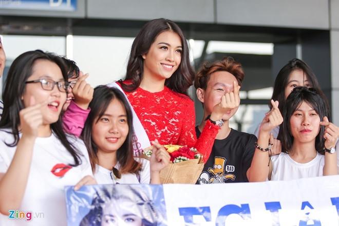 Lệ Hằng thi hoa hậu Hoàn vũ thế giới 8