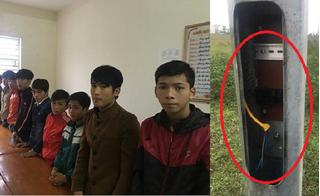 Bắt giữ băng trộm nhí 9 lần cắt trộm dây cáp điện ở KCN Vũng Áng