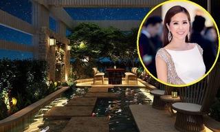 Hoa hậu Thu Hoài khoe biệt thự triệu đô đẳng cấp vượt trội giới showbiz
