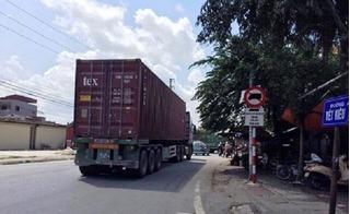 Hải Dương: Từ hôm nay, cấm toàn bộ ô tô tải từ 4 trục bánh trở lên lưu thông trên đường 391