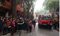 Cháy lớn ở cửa hàng nội thất trên phố Đê La Thành