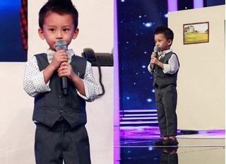 Cậu bé 4 tuổi hát nhạc bolero khiến Mỹ Linh