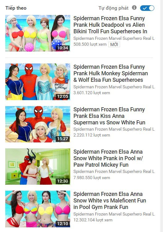Elsa Spiderman2
