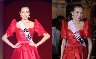 Đẹp rạng rỡ thế này, Lệ Hằng không được khán giả Miss Universe yêu thích cũng phí!