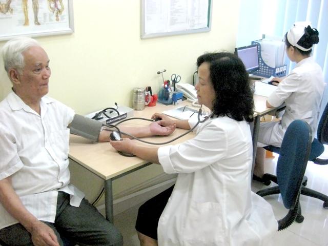 Cao huyết áp phòng khám