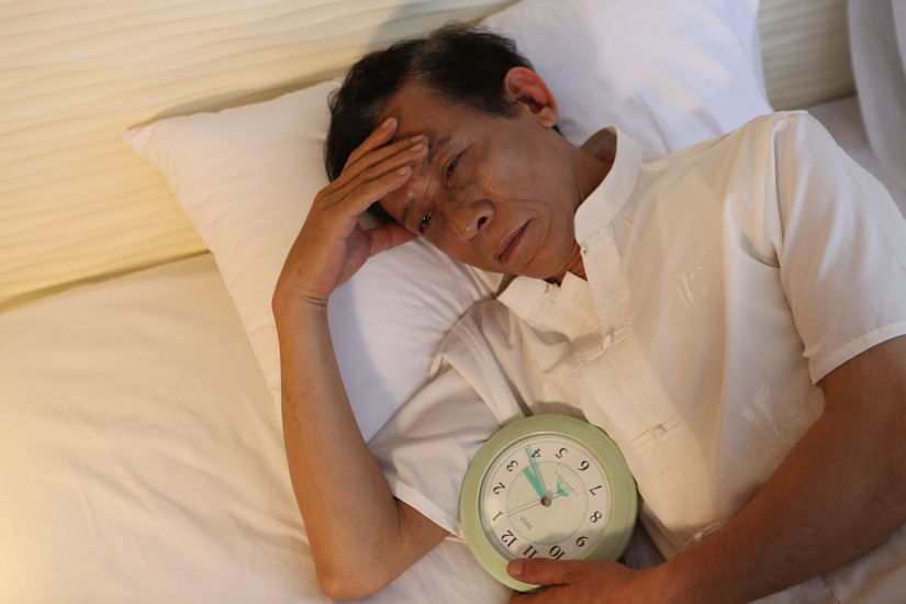 Người bị bệnh huyết quả não thường khó ngủ