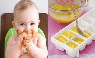 Mách mẹ cách chuẩn bị đồ ăn dặm cho con ngày Tết nhanh gọn mà đủ chất