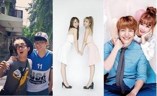 Những đôi bạn được yêu thích nhất showbiz Việt năm 2016