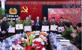 Lạng Sơn: Thưởng nóng tổ chuyên án bắt gọn trùm ma tuý giáp Tết