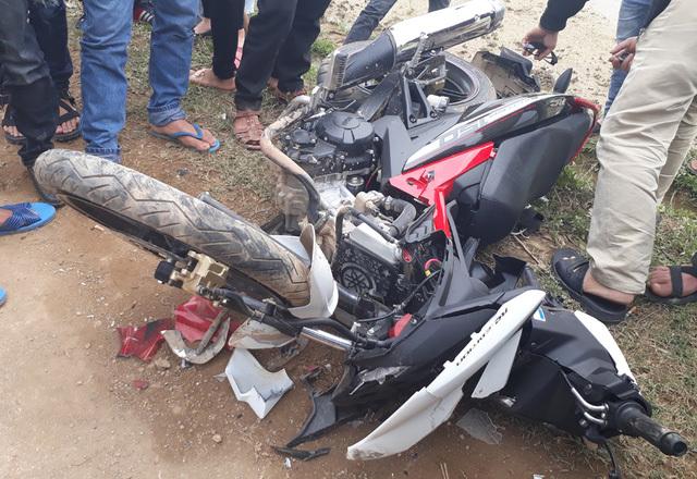 Hiện trường một vụ tai nạn giao thông ngày 29 Tết