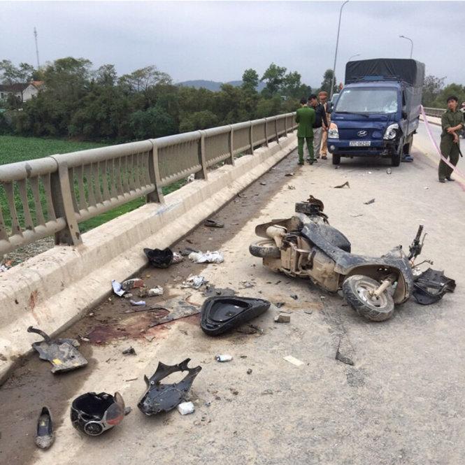 tai nạn ở cầu Rộ