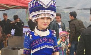 Dân mạng phát cuồng với cô gái H'Mông đẹp