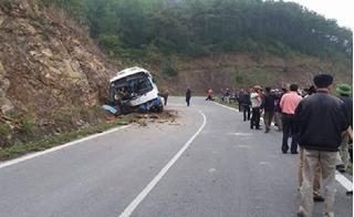 Hé lộ nguyên nhân xe khách chở 42 người đâm vào vách núi khi vừa rời tượng đài Thánh Gióng