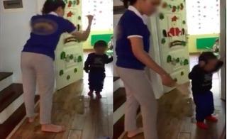 Vụ cô giáo dùng dép đánh trẻ: Chủ tịch Nguyễn Đức Chung yêu cầu báo cáo