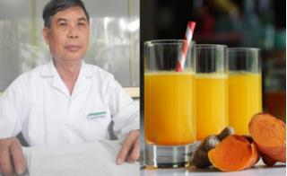 Cách pha nước nghệ chuẩn nhất giúp khỏi hẳn bệnh đau dạ dày