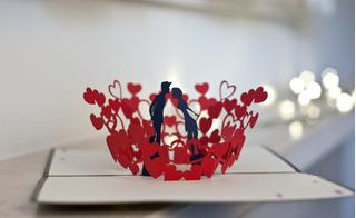 2 cách làm thiệp Valentine handmade tặng người ấy dễ hơn ăn cháo