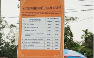 """Tối nay bắt đầu khai ấn đền Trần - Nam Định, gửi xe ở đâu để không bị """"chặt chém""""?"""