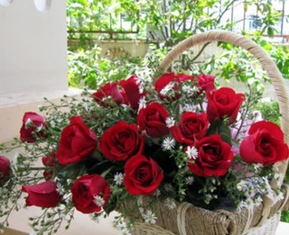 Cận kề ngày Valentine, giá hoa hồng đỏ Đà Lạt tăng gấp 3 lần
