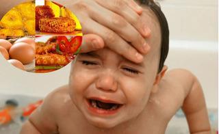 Trẻ bị sốt có thể tử vong nếu ăn món này, mẹ nhất định phải biết để tránh cho con