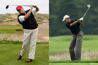Chỉ trích ông Obama chơi golf chán chê, nay ông Trump lại làm điều