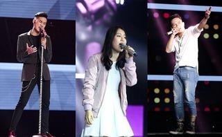 3 thí sinh được cả 4 HLV Giọng hát Việt 2017 bấm nút có gì đặc biệt?