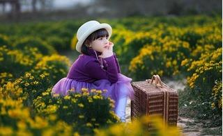 Bộ ảnh đáng yêu của bé gái 5 tuổi dưới ống kính của bố