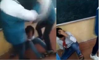 Phẫn nộ nam sinh lớp 7 bị bạn trả thù, đánh gục ngay trên bục giảng