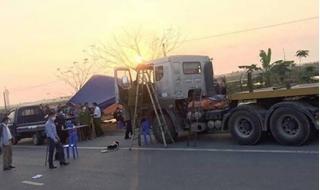 Vụ lái xe chết trong cabin ở Bắc Ninh: 34 tấn thép trên xe đã bị cướp